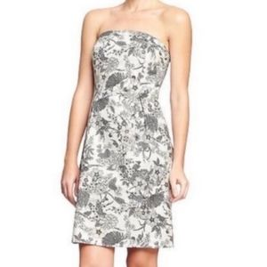 Old Navy floral strapless summer dress